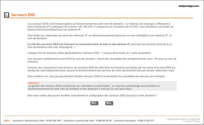 Assistance nordnet changer les serveurs dns de votre nom for Changer votre fenetre cas par cas