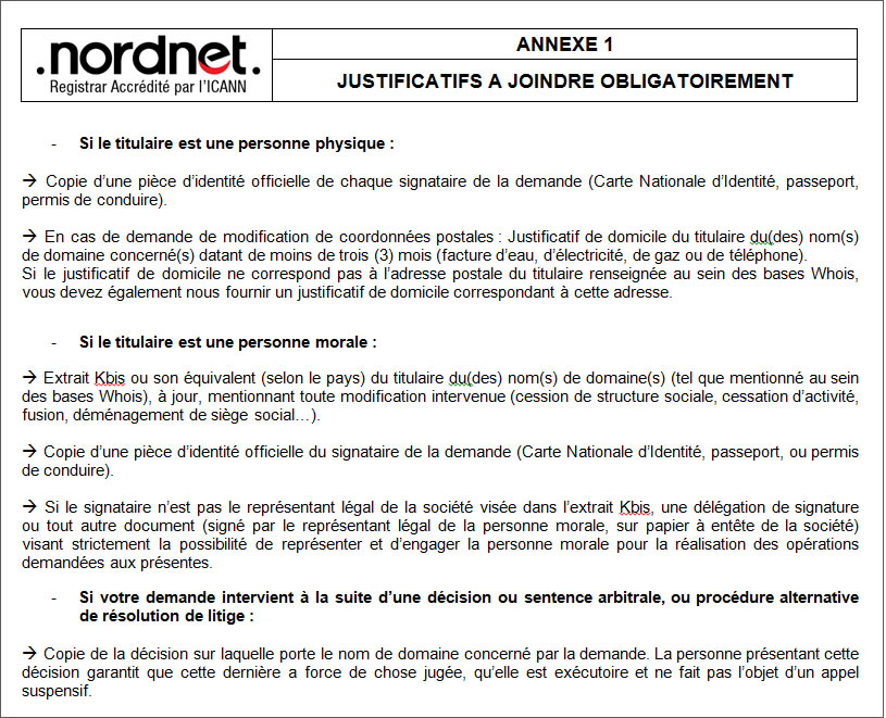 Assistance Nordnet Modifier Les Coordonnees Du Titulaire Du Nom De